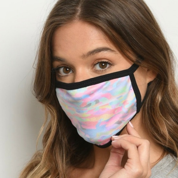 Accessories - Just in! New! Camo Tie Dye 2ply Face Masks